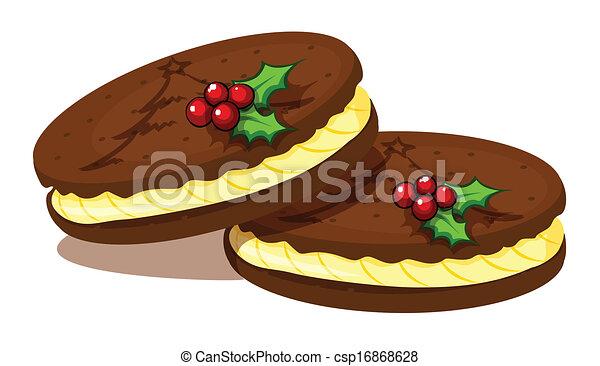 Christmas cookies - csp16868628