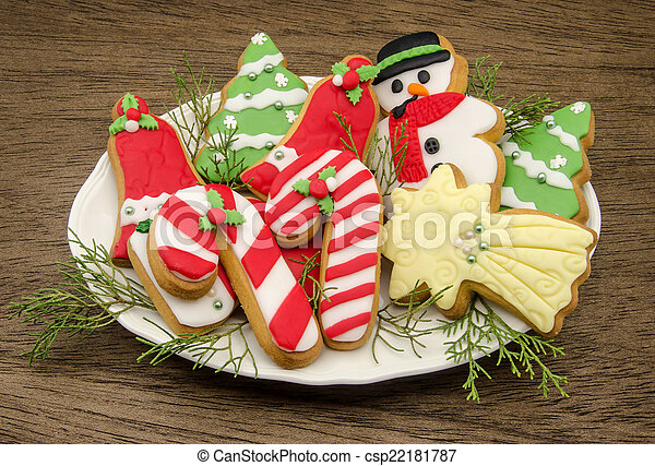 christmas cookies csp22181787