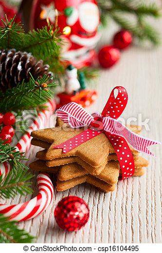 Christmas cookies - csp16104495