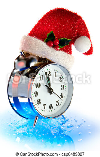 christmas countdown of time csp0483827