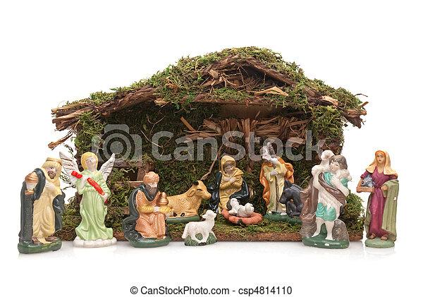 Christmas Crib - csp4814110