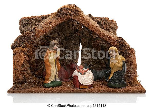 Christmas Crib - csp4814113