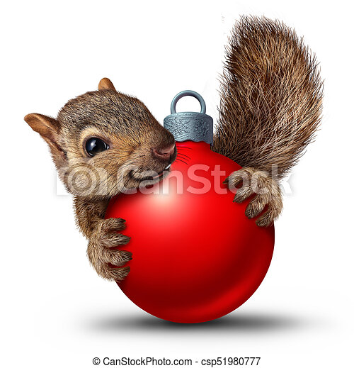 078c3b4df3590 Christmas cute squirrel. Christmas cute squirrel with a christmas ...