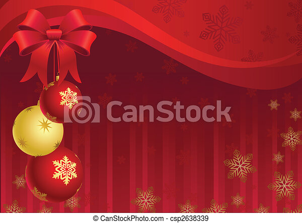 christmas decor - csp2638339