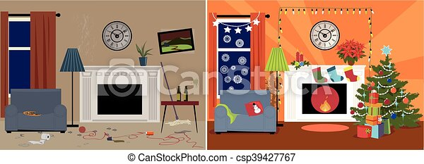 Christmas decoration - csp39427767