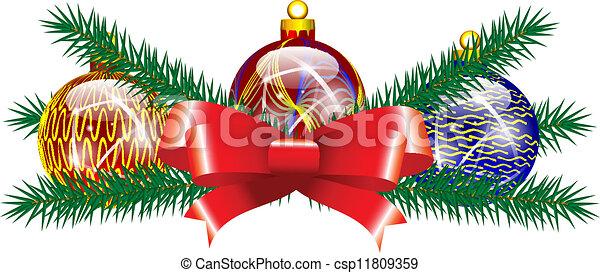 Christmas decoration - csp11809359