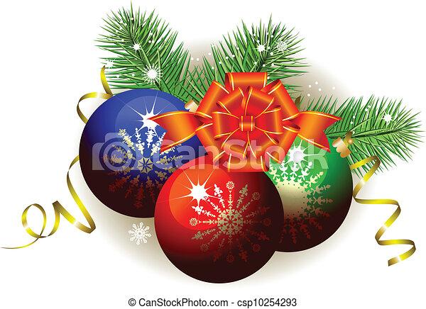 Christmas decoration - csp10254293