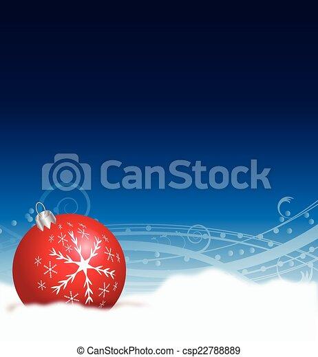 CHRISTMAS DECORATION - csp22788889