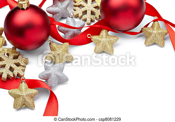 christmas decoration ornament new year holiday - csp8081229