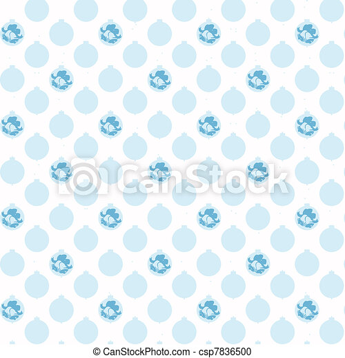 christmas decoration pattern - csp7836500