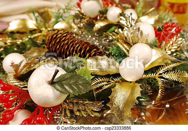 christmas decoration - csp23333886
