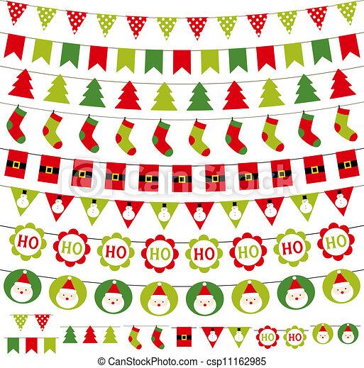 Christmas decoration set - csp11162985
