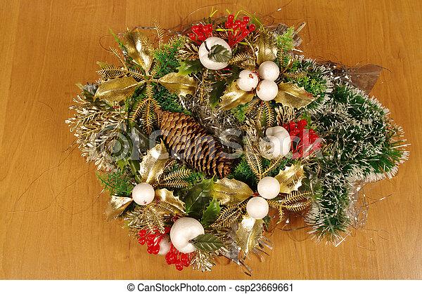 christmas decoration - csp23669661