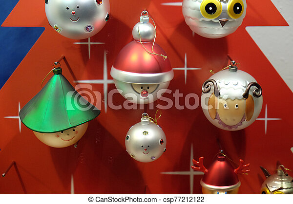 Christmas decoration - csp77212122