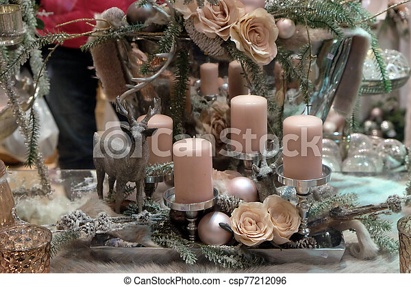 Christmas decoration - csp77212096