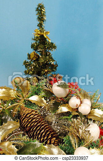 christmas decoration - csp23333937