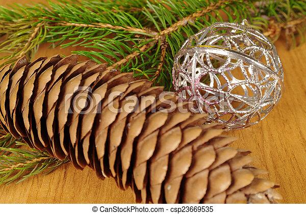 christmas decoration - csp23669535