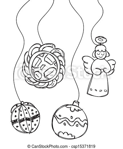 christmas decoration - csp15371819