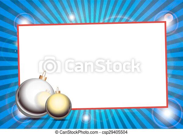 CHRISTMAS DECORATION - csp29405504