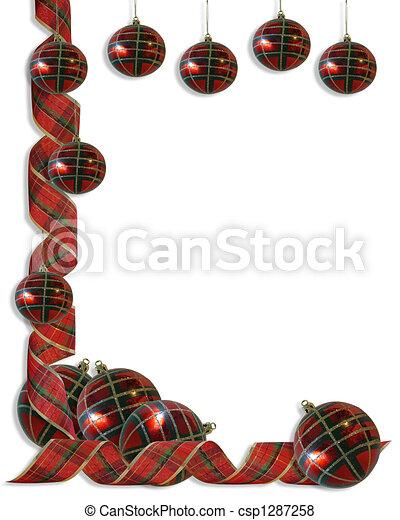 Christmas Decorations Border Ribbon