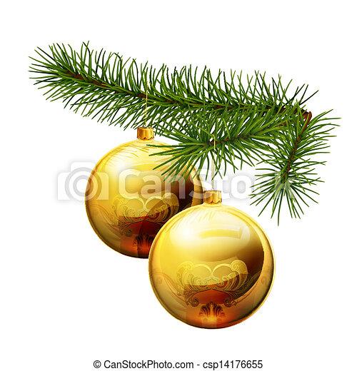 Christmas decorations - csp14176655