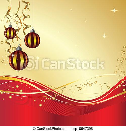 Christmas decorations - csp10647398