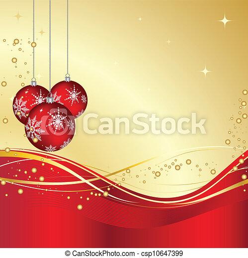 Christmas decorations - csp10647399