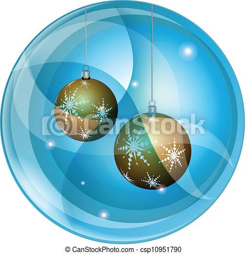Christmas decorations - csp10951790