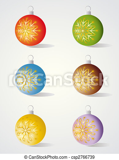 Christmas decorations - csp2766739