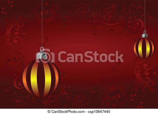 Christmas decorations - csp10647440