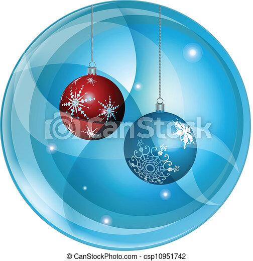 Christmas decorations - csp10951742