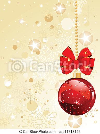 Christmas Decorations - csp11713148