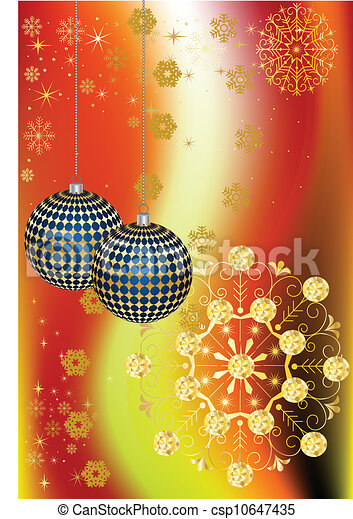 Christmas decorations - csp10647435