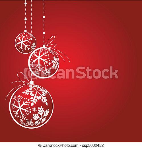 Christmas decorations - csp5002452