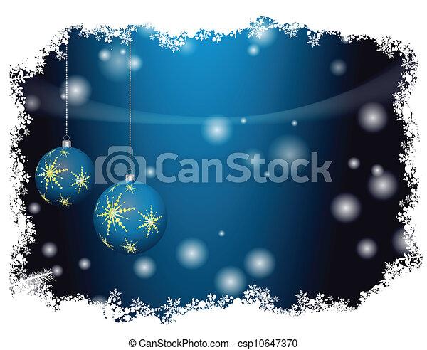 Christmas decorations - csp10647370