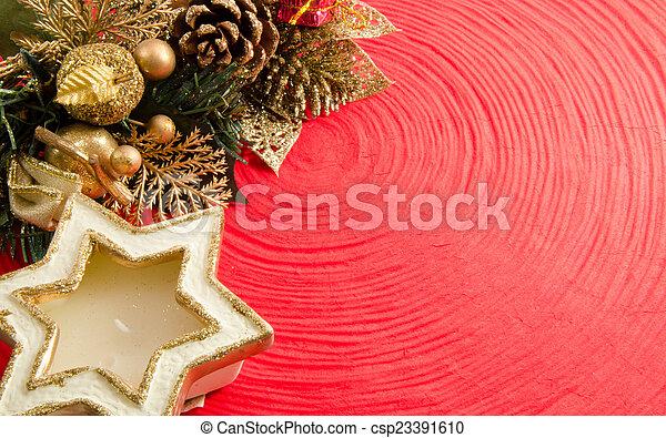 Christmas decorations - csp23391610