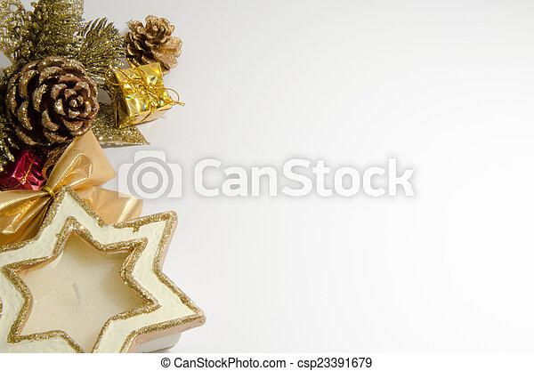 Christmas decorations - csp23391679