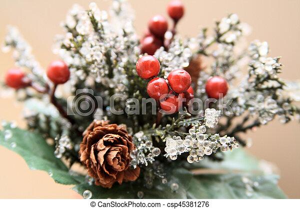 Christmas decorations - csp45381276