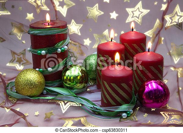 Christmas decorations - csp63830311