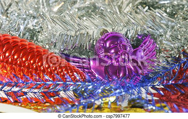 Christmas decorations - csp7997477