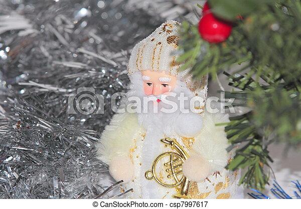 Christmas decorations - csp7997617