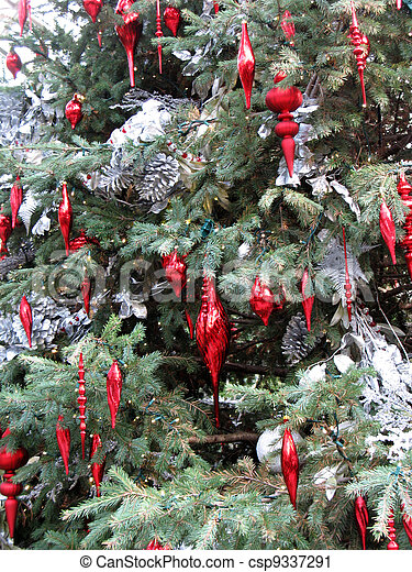 Christmas decorations - csp9337291