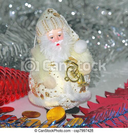 Christmas decorations - csp7997428