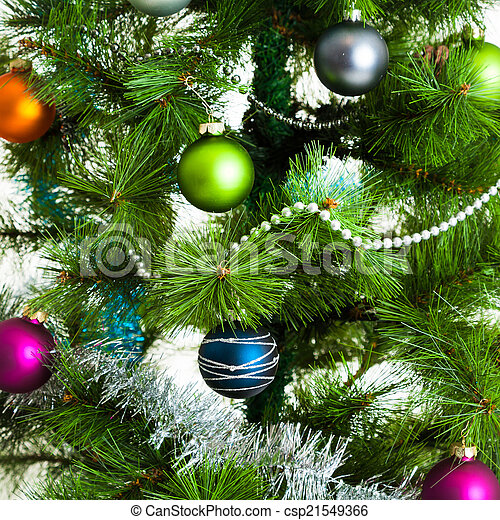 Christmas decorations. - csp21549366