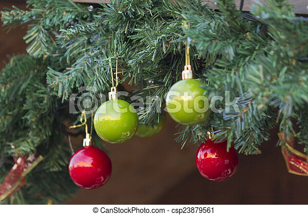 Christmas decorations - csp23879561