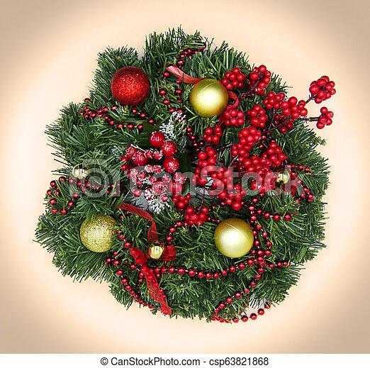 Christmas decorations - csp63821868