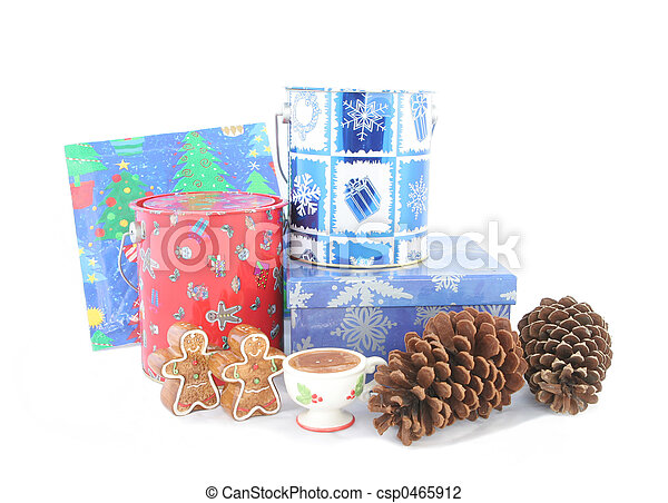 Christmas decorations - csp0465912