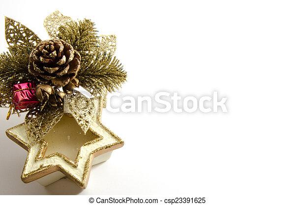 Christmas decorations - csp23391625
