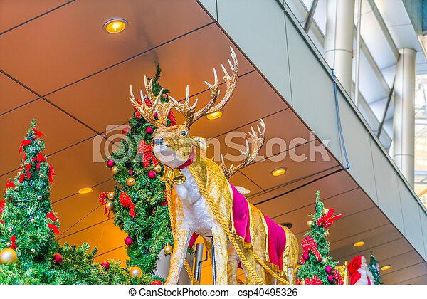 Christmas decorations - csp40495326