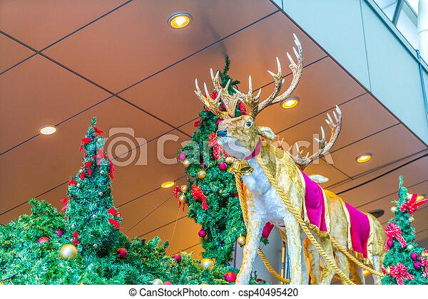 Christmas decorations - csp40495420